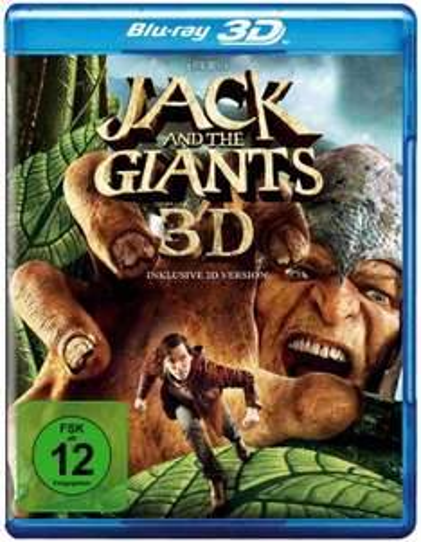 Jack and the Giants 3D für nur 14,99 EUR inkl. Versand [Blu-ray 3D]