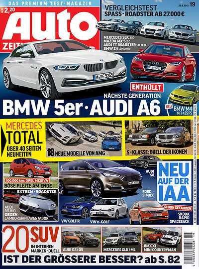 Auto Zeitung für 7,60€ durch Bargeldprämie