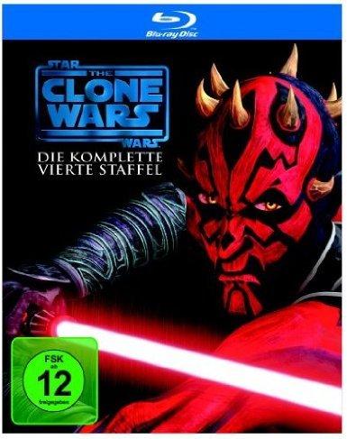 Star Wars: The Clone Wars Staffel 4 als BluRay Box nochmals günstiger als zuletzt