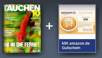 """Zeitschrift """"Tauchen"""" für 9,40€"""