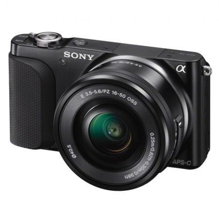 SONY NEX-3 NL. Systemkamera mit Sony Objektiv 16-50mm @ www.redcoon.de