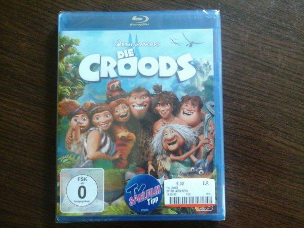 """Blu-ray """"Die Croods"""" 9€ Berlin MM + neue 3 für 20€ Blu-ray Aktion"""