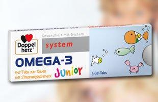 (Muster) Doppelherz system OMEGA-3 Junior 3 Gel Tabs