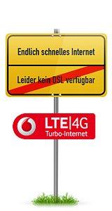 KOSTNIX Vodafone 4,5GB/3GB 21,6Mbit/s LTE Internet-Flat  @sparhandy