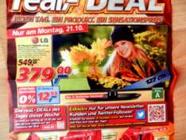 """LG 50""""-Plasma-TV 50PN4503 127cm für 379,-€  Real-Deal am Montag 21.10. (Bundesweit)"""