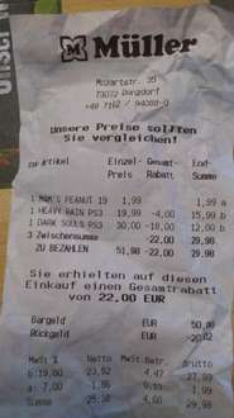 [Lokal, Müller, Donzdorf] Dark Souls Limited Edition PS3 für 12€
