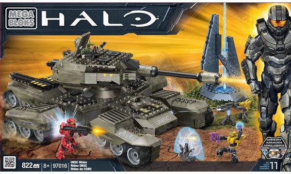 Mega Bloks Halo Rhino Panzer