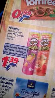 "[offline] UK-Pringles ""Prawn Cocktail"" & ""Thai Sweet Chilli"" für 1,39€ Deutschland-exklusiv @ real,-"