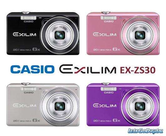 [OTTO-Card Inhaber] Casio EX-ZS30 + 15€ musicbox.de Download Gutschein für 73,15€
