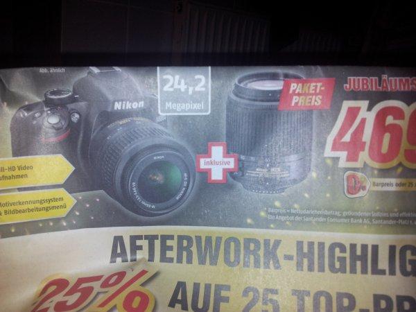 Medimax 25 jahre [lokal?] Hannover: nikon d3200 + 18-55mm objektiv + 55-200mm objektiv (beide nikon)