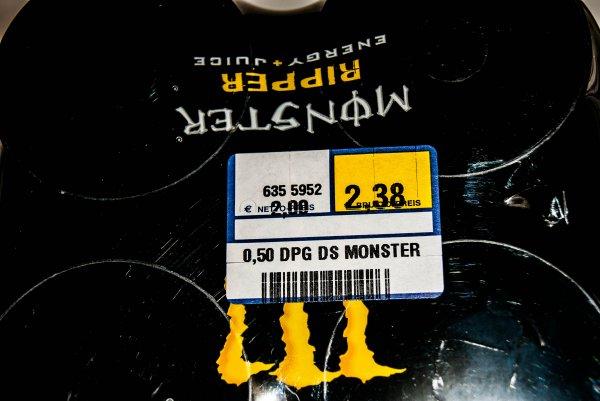 Monster Energy Ripper - 4er Pack für 2,38€ [Metro Braunschweig]