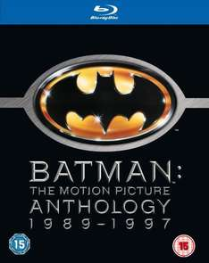 Batman: The Motion Picture Anthology 1989 - 1997 [4 Blu-rays] @zavvi für 9,39€