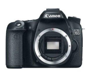Canon 70D (nur Body) bei Amazon Frankreich