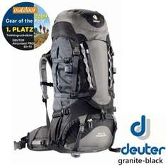 Deuter Aircontact PRO 60 + 15, granite-black