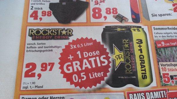 Rockstar Energy Drink 4 Stk. Für 2,97€ bei Thomas Philipps *Lokal*