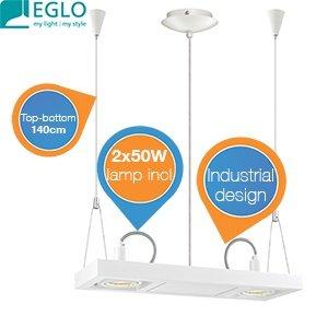 Eglo Vectus 90688 - Hängeleuchte für 49,95€ zzgl. 5,95€ Versand @iBOOD