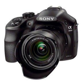 Sony Alpha 3000 (EVIL) schwarz mit Objektiv AF E 18-55mm 3.5-5.6 OSS