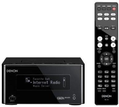 Denon DRA-N5 Netzwerk Kompaktreceiver (2x 65 Watt, Internetradio, DLNA, AirPlay, iPod-Dock, App Steuerung) schwarz