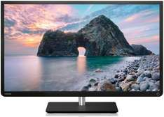 Toshiba 32L4363DG 80 cm (32 Zoll) LED-Backlight-Fernseher, EEK A+ (Full HD, 100Hz AMR, DVB-T/C/S, CI+, Smart TV) schwarz   @amazon 299€