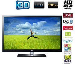 LG 42LW4500 LED CINEMA 3D-Technologie, DivX HD und TruMotion 100 Hz mit 2 X 3D Brillen