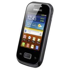 Samsung, Smartphone Galaxy Pocket S5300 black bei Real,-Onlineshop für 69,95€