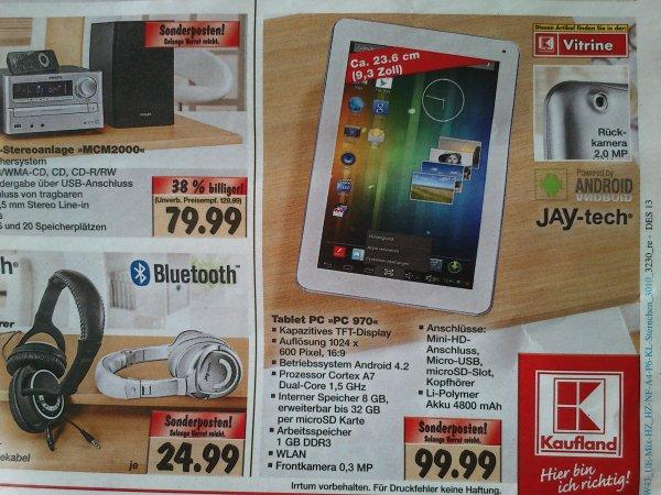 """[Kaufland Dessau] Jay-Tech Tablet 9"""" für 99.99 Euro"""