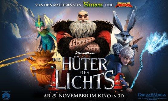 Die Hüter des Lichts (Blu-ray) für 9,97€ bei Amazon