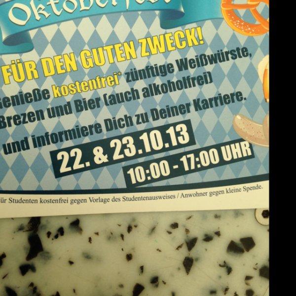 Wurst und Bier für Studenten [lokal Darmstadt]