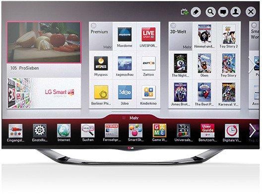 """LG 42LA6908 42"""" 3D TV ca. €610.- (Schweiz)"""