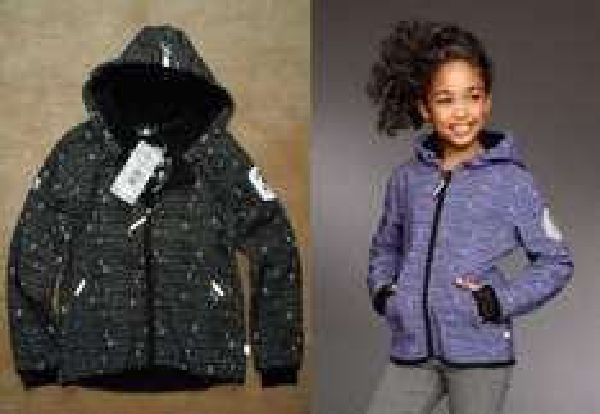 XS EXES® Softshelljacke für Kinder mit Kapuze | Lila 15,10€ | Schwarz 19,99€