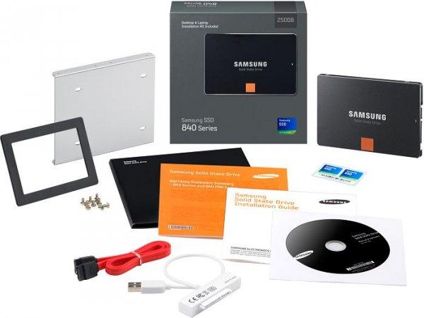 Samsung SSD-Festplatte 840 Upgrade-Kit MZ-7TD120KW 120 GB
