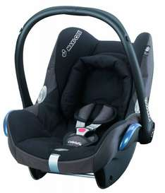 [amazon.co.uk] Maxi-Cosi CabrioFix Black Reflection ~ 85€