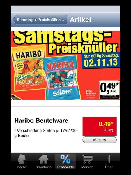 [METRO] Haribo Beutel für 0,52€ am Samstagsknüller 02.11