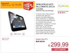 WeTab 32GB UMTS 299,- bei OTTO