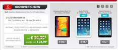 Vodafone: 4,5GB LTE Internet-Flat MIT Galaxy Note 10.1, iPad Air oder iPad mini 2! Sparhandy!