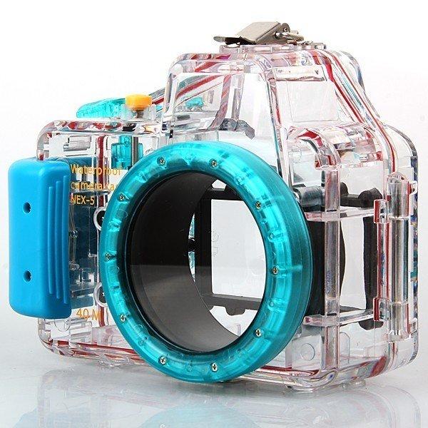 Unterwassergehäuse für Sony NEX-5 16mm (und andere)