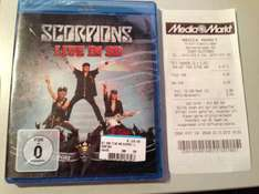 Scorpions: Live in 3D - Get Your Sting & Blackout (Blu-Ray) @ Media Markt HH-Halstenbek