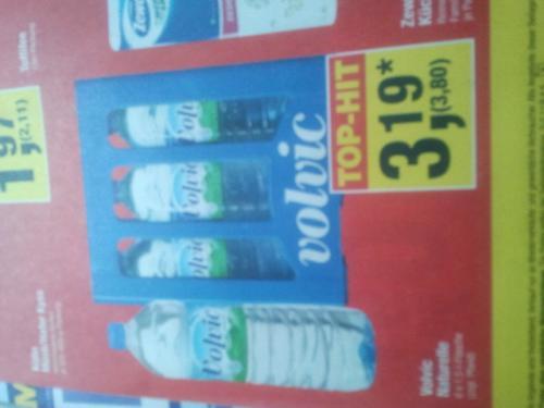 Volvic Naturelle 6 x 1,5-l-Flasche bei Metro für 3,80 Euro.