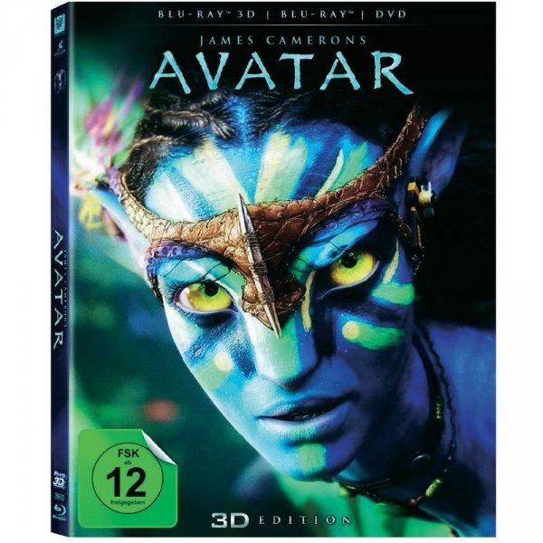 Avatar 3D Bluray +  3D Brillen Partyset (Polfilter)