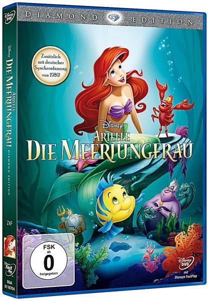 (Offline) DVD Arielle - Disney 12,79 EUR (und anderes Disney DVDs sowie Spielwaren)