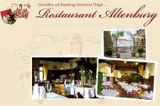 Restaurant Altenburg - 50 € Gutschein für 27,00 € @ coupon-future.de