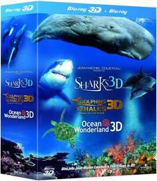 Jean-Michel Cousteau's Film Trilogy in 3D Blu-ray für 11,59 € @ Zavvi.uk