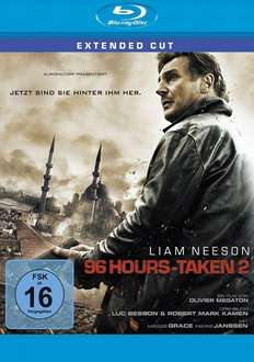 96 Hours - Taken 2 Blu-Ray @amazon.de