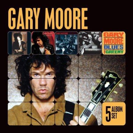 5 CD´s von Gary Moore - best guitar player ever- für nur 11,99 € bei amazon prime