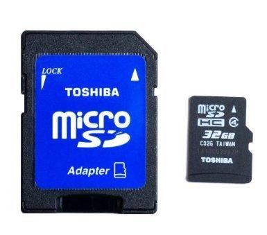 [Kaufland]32 GB microSDHC Class 4 von Toshiba für 15 Euro