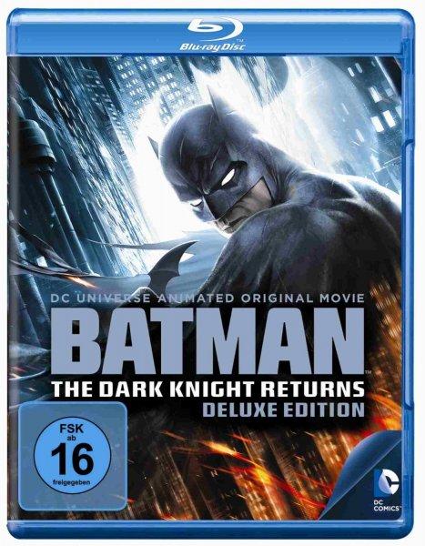 Batman - The Dark Knight Returns Deluxe Edition (Teil 1+2) [Blu-ray] für 13,97 €