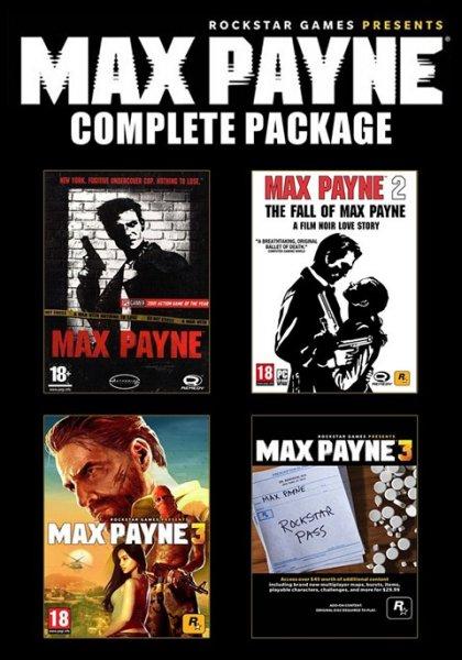 [Steam] Max Payne Komplett Bundle für rund 9€ @ Gamefly