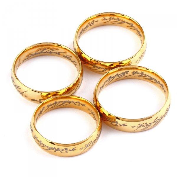 Ein Ring, sie zu knechten, sie alle zu finden, ins Dunkel zu treiben und ewig zu binden - Der eine Ring für  0,72€ bei Ebay