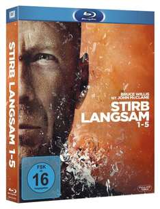 Stirb Langsam 1-5 Collection für 28,97 € (Bestpreis) @ amazon.de
