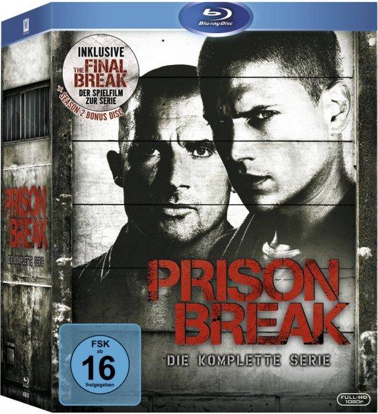 Prison Break - Die komplette Serie (inkl. The Final Break) [24 Blu-rays]  für 49,99 Euro @ Amazon.de